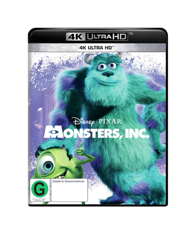 Monsters, Inc on UHD Blu-ray