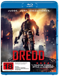 Dredd on Blu-ray