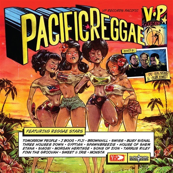 Pacific Reggae Volume 1 (2CD) by Various Artists