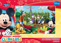 Mickey Clubhouse 60 Piece Jigsaw Puzzle - It's Harvest Time image