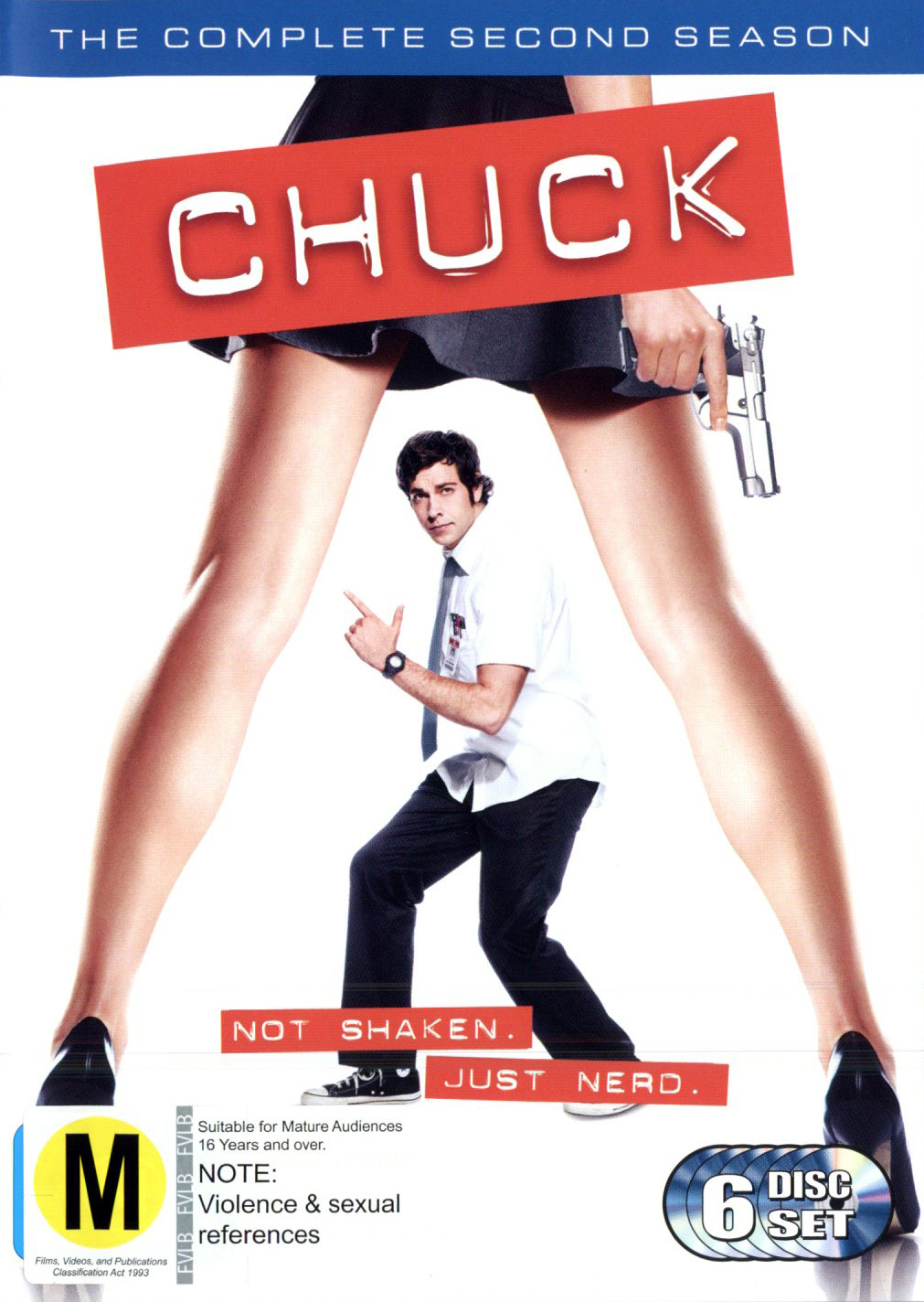 Chuck - The Complete 2nd Season (6 Disc Set) DVD image
