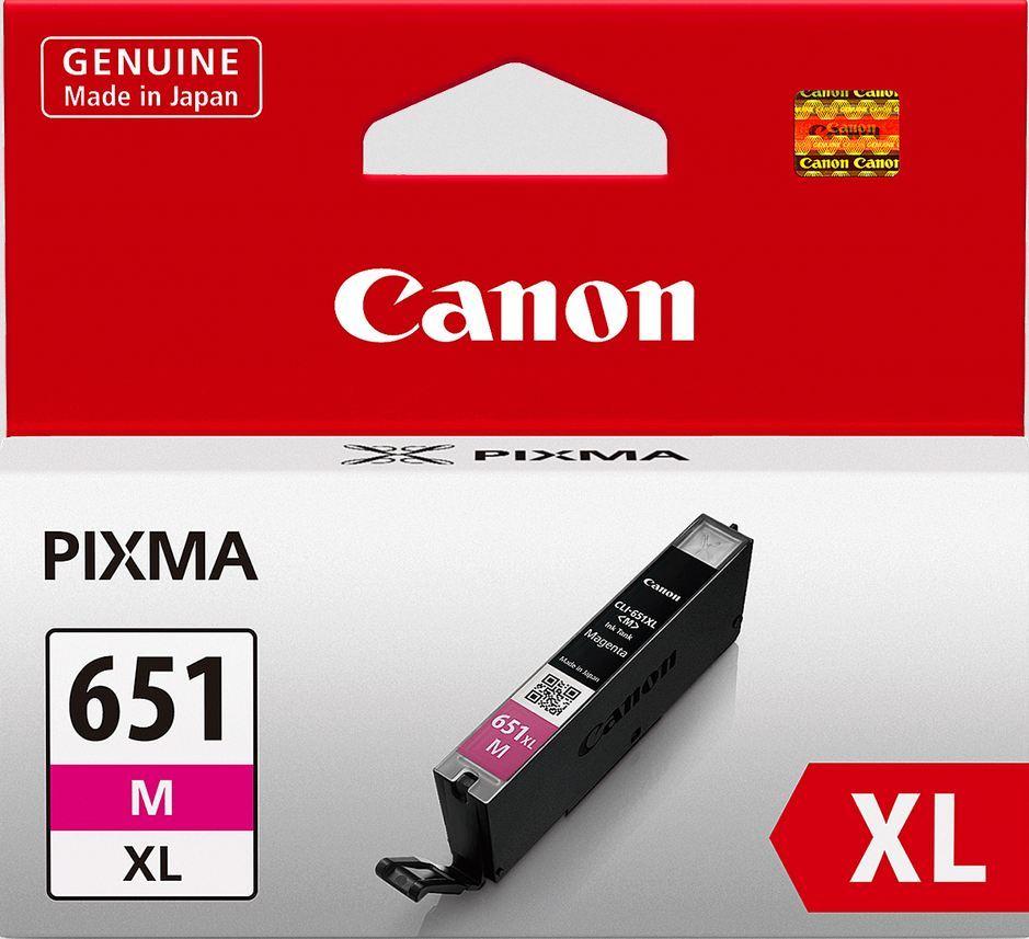 Canon Ink Cartridge - CLI651XLM (Magenta High Yield) image