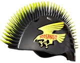 Raskullz Helmet Hawk Mohawk (Black/Yellow)