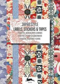 Pepin Press: Label & Sticker Book - Japan Style by Pepin Van Roojen