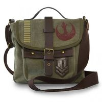 Loungefly Star Wars Rogue One Rebel Alliance Crossbody Messenger Bag
