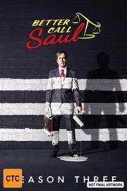 Better Call Saul Season 3 on DVD image