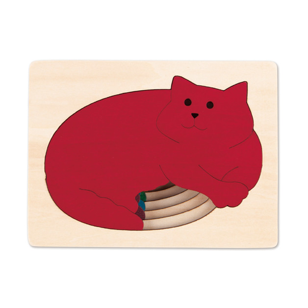 Hape: Five Cats Puzzle