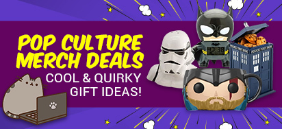 Pop Culture Merch Deals!