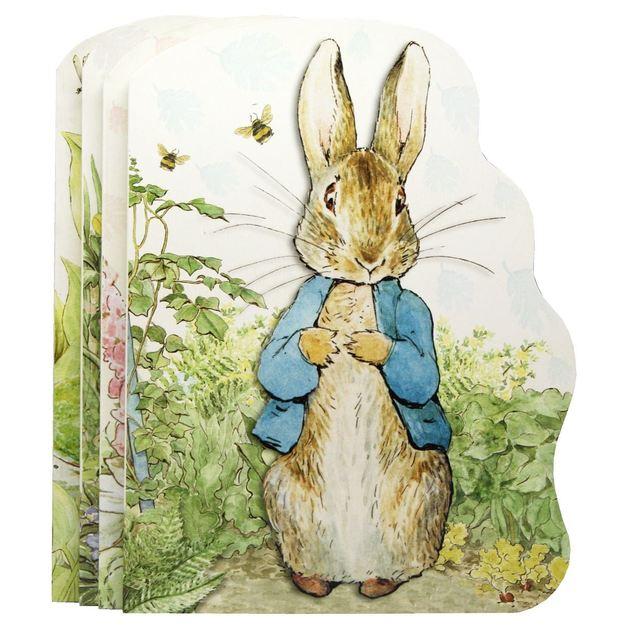 Peter Rabbit Shaped Board Book Classics 4 Book Pack