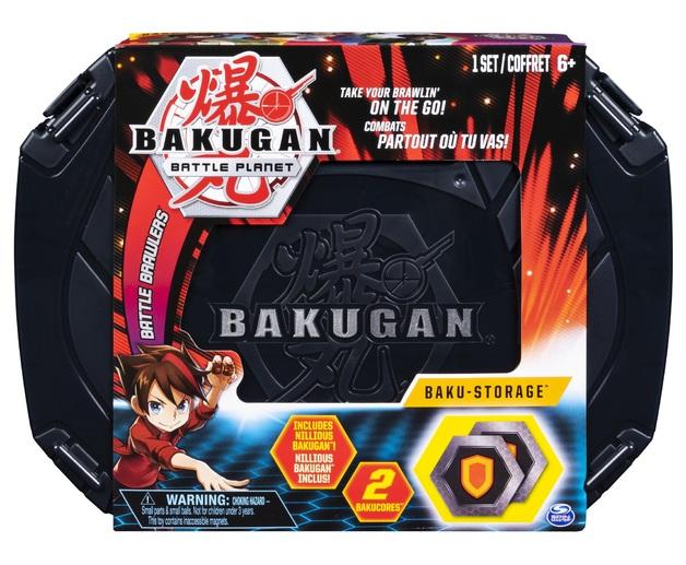 Bakugan: Baku-Storage Case - (Back)