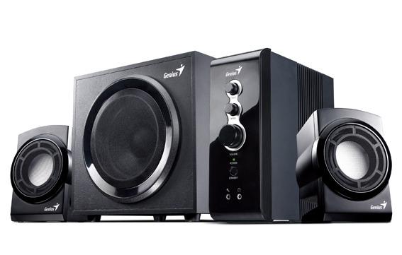 Genius 2.1channel Speakers (Black)