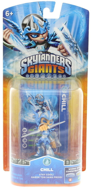 Skylanders Giants Character Single Pack Chill All Formats Buy