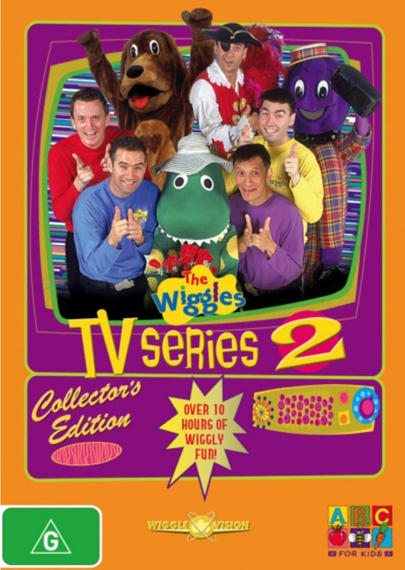 Wiggles, The - TV Series 2: Collector's Edition (3 Disc Box Set) on DVD