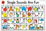 Learning Can Be Fun - Single Sounds Are Fun - Placemat