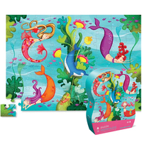 Crocodile Creek: Mermaids Jr. Puzzle - 72pc