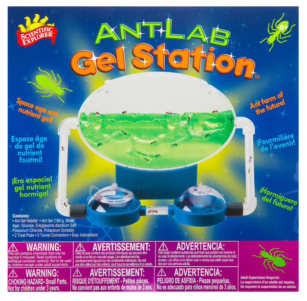 Scientific Explorer: Ant Lab Gel Station - Discovery Kit