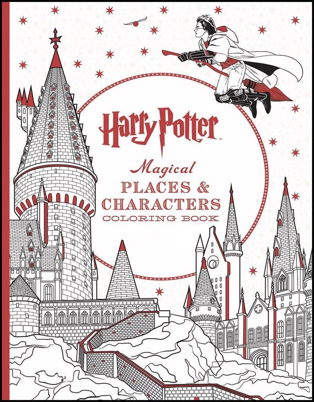 Harry Potter: Magical Places & Characters Coloring Book by Scholastic