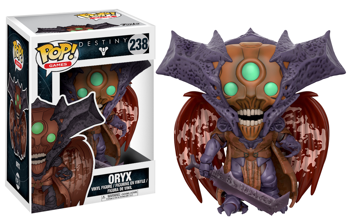 Destiny - Oryx Pop! Vinyl Figure image