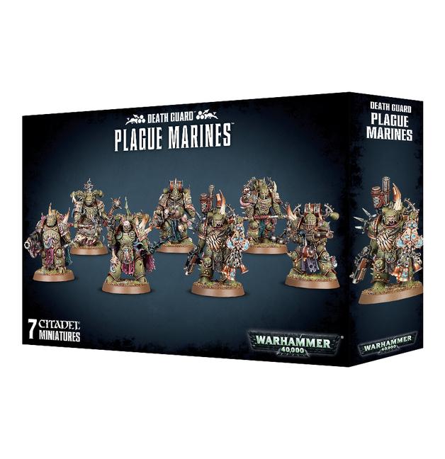 Warhammer 40,000: Death Guard - Plague Marines
