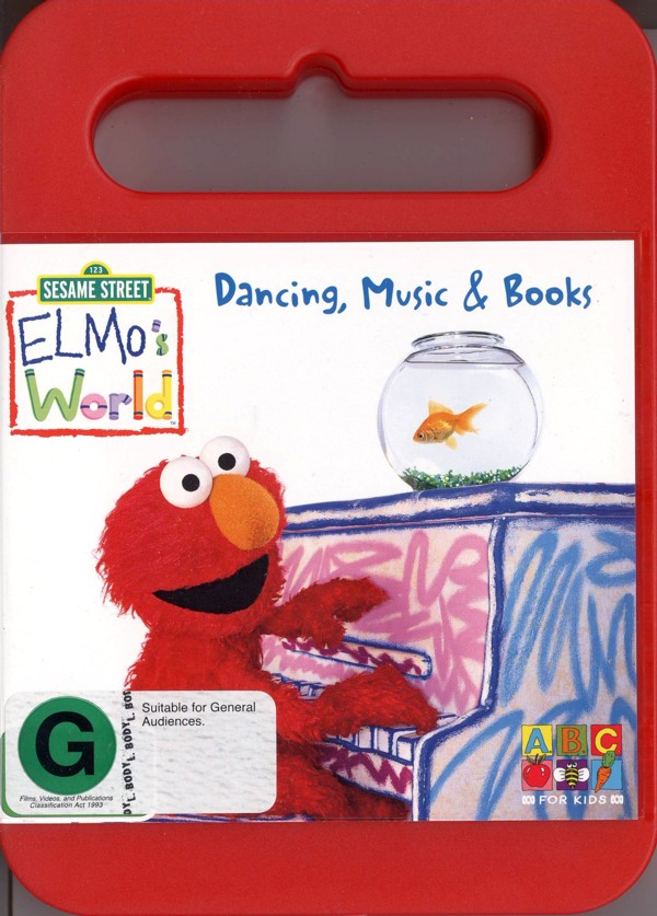 Elmo's World - Dancing, Music And Books (Handle Case) on DVD image