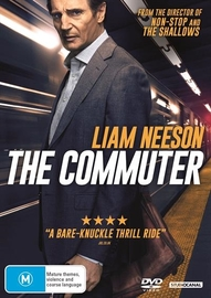The Commuter on DVD