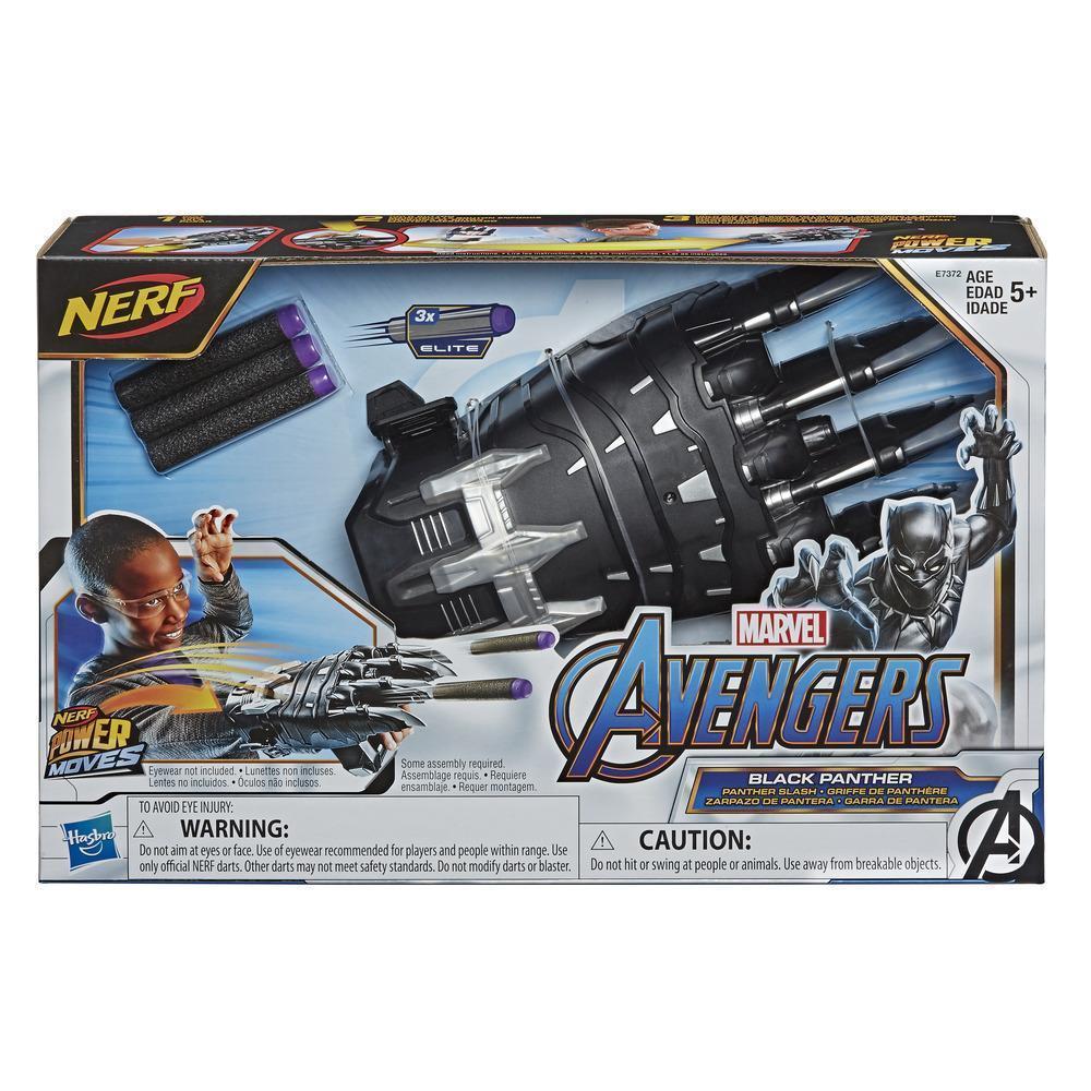 NERF Power Moves: Marvel Avengers Kids Roleplay - Black Panther Power Slash image