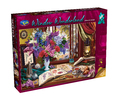 Holdson: 1000 Piece Puzzle - Window Wonderland (Lilacs & Swans)
