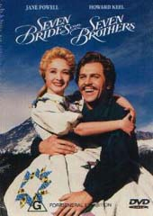 Seven Brides For Seven Brothers on DVD