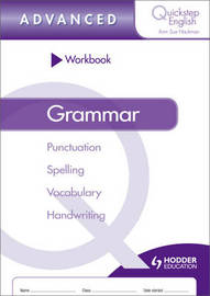 Quickstep English Workbook Grammar Advanced Stage by Sue Hackman image