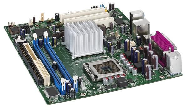 Intel D865GSA mATX LGA775 DDR 400 Lan/Audio/VGA for Pentium 4 and Pentium D processors