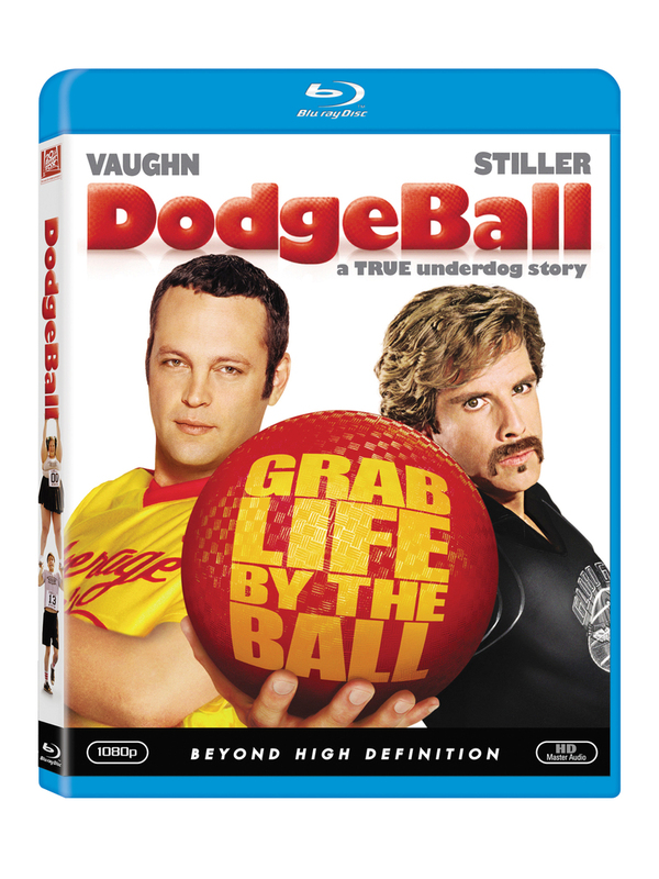 DodgeBall on Blu-ray