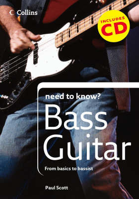 Bass Guitar by Paul Scott