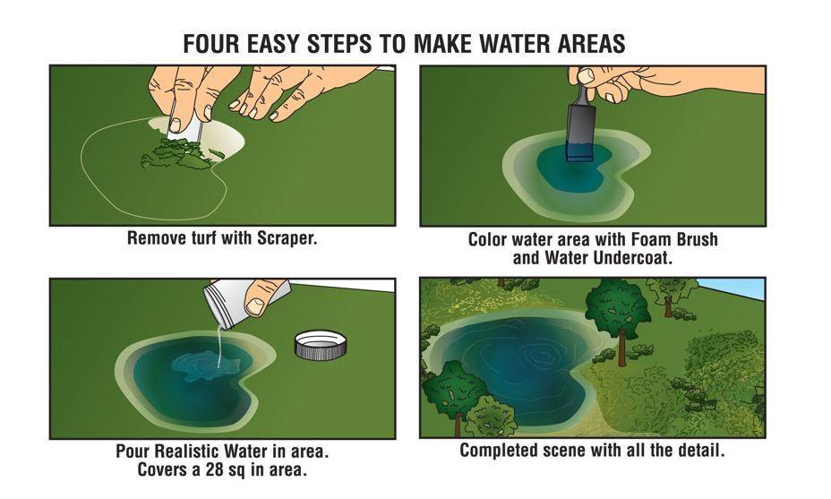 Woodland Scenics Water kit image