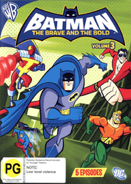 Batman: The Brave and the Bold - Volume 3 on DVD