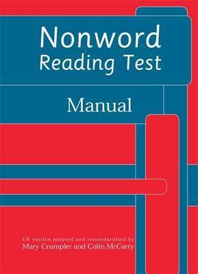 Nonword Reading Test: Specimen Set by Frances Martin