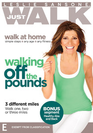 Leslie Sansone: Just Walk - Walking Off The Pounds on DVD