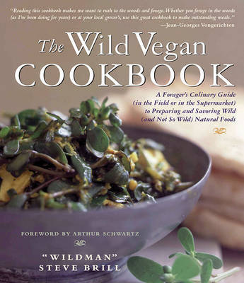 The Wild Vegan Cookbook by Steve Brill image