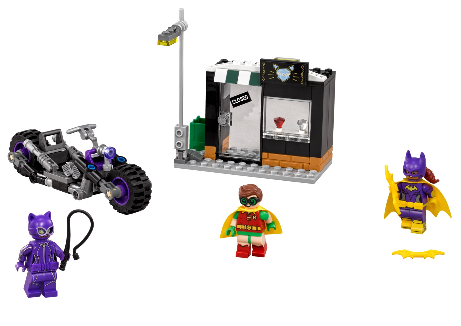 LEGO Batman Movie: Catwoman Catcycle Chase (70902) image