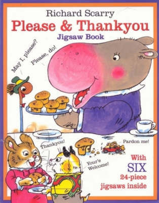 Please and Thankyou Jigsaw Book by Richard Scarry
