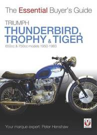 Triumph Trophy & Tiger by Peter Henshaw