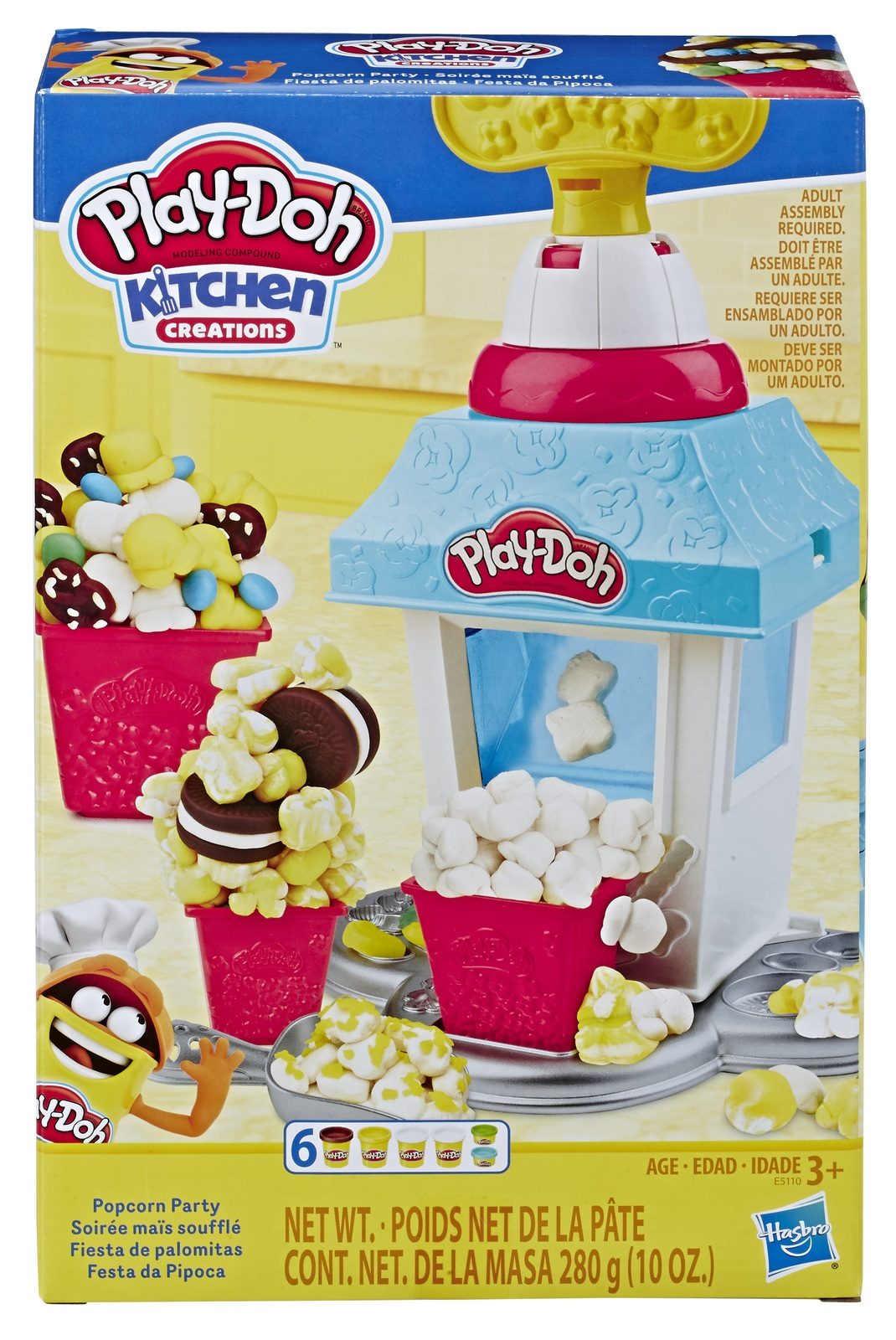 Play-Doh: Kitchen Creations - Popcorn Party Playset image