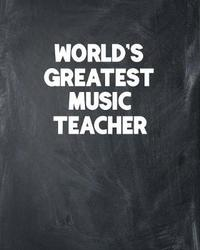 World's Greatest Music Teacher by Ss Custom Designs Co image