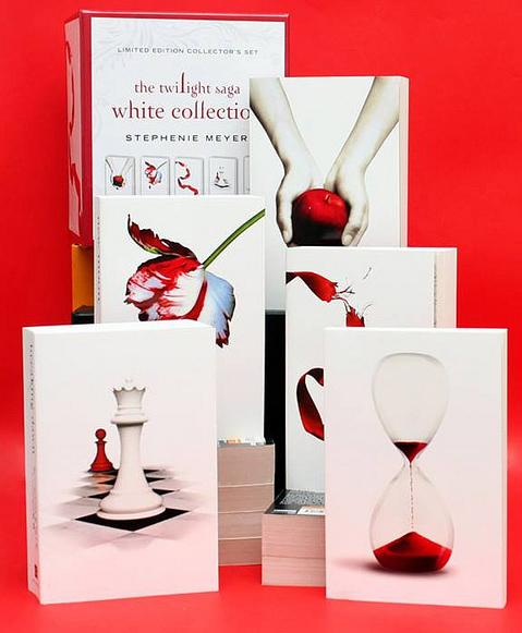 The Twilight Saga White Collection Box Set (5 Books) by Stephenie Meyer image