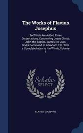 The Works of Flavius Josephus by Flavius Josephus image
