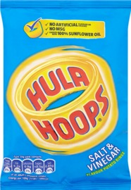 Hula Hoops Salt & Vinegar (34g)