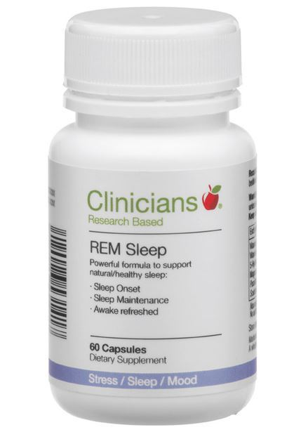 Clinicians REM Sleep (60 Capsules)