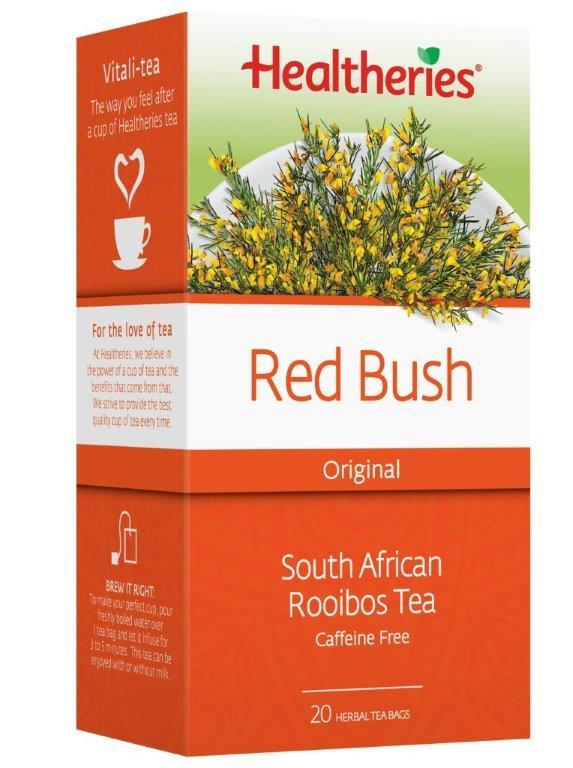 Healtheries Red Bush Rooibos Tea (Pack of 20)
