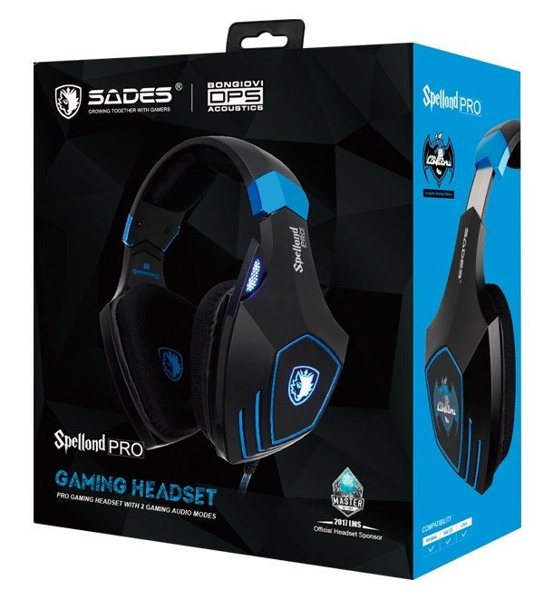 SADES Spellond Pro Gaming Headset for PC image