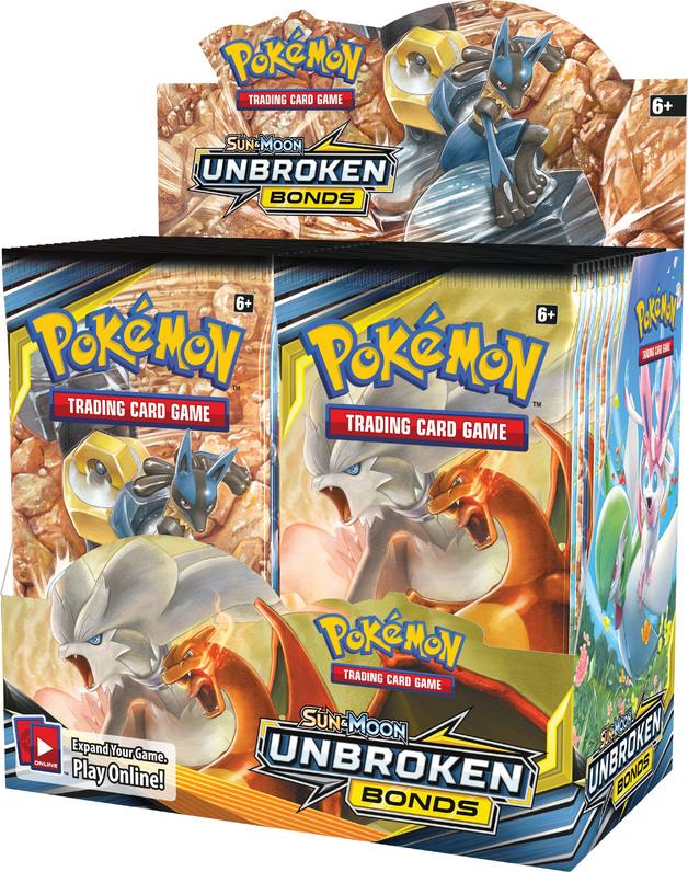 Pokemon TCG: Unbroken Bonds - Booster Box (36 Packs)