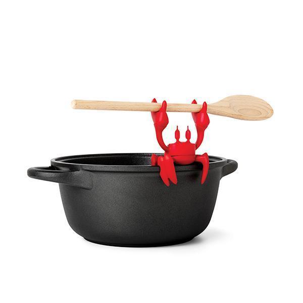 Ototo: Red Spoon Holder & Steam Releaser